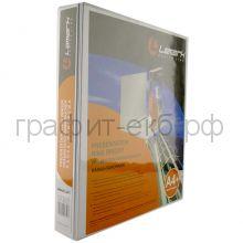 Файл А4 3,8см 4к.папка-панорама белая Lamark603