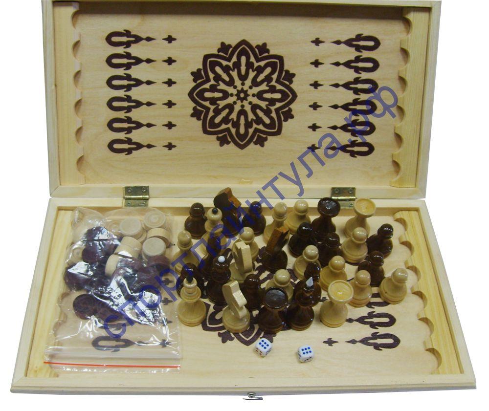 Игра 2 в 1 (шахматы, нарды) G192А