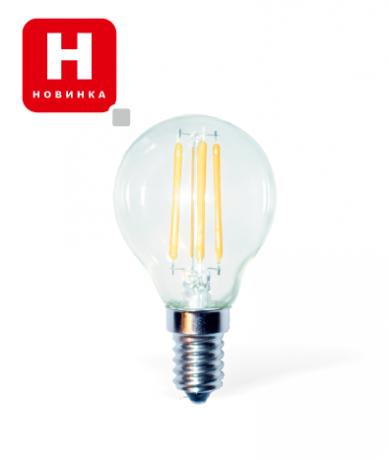 Светодиодная LED лампа Е14/ 4W, 6W Филаментная