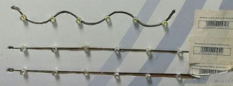 Светодиодная лента DIP, 2 Вт, белый, красный, синий, зеленый, желтый