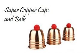 Super Copper Cups and Balls Профессиональные медные чаши и шарики