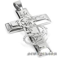 Массивный стальной крест