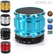 Колонка Portable Bluetooth Mini Speaker S28 Metal Steel