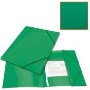 Папка на резинках BRAUBERG Contract зеленая/50 221799