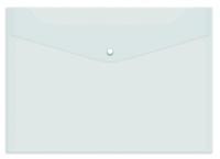 Папка-конверт на кнопке А4 PROFF 180мкм прозрачная /12 CH209/18-TF-00