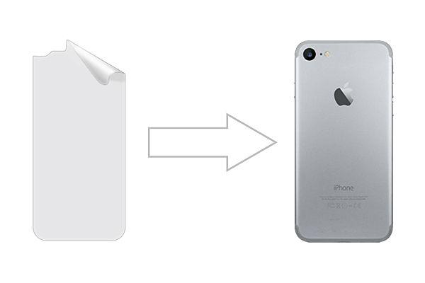 Защитная пленка Ainy для Apple iPhone 8 глянцевая (задняя)