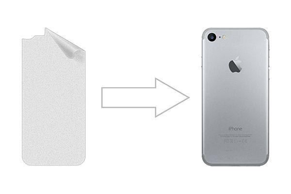Защитная пленка Ainy для Apple iPhone 8 матовая (задняя)