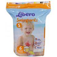 Подгузники для плавания Libero (7-12кг), 6шт.