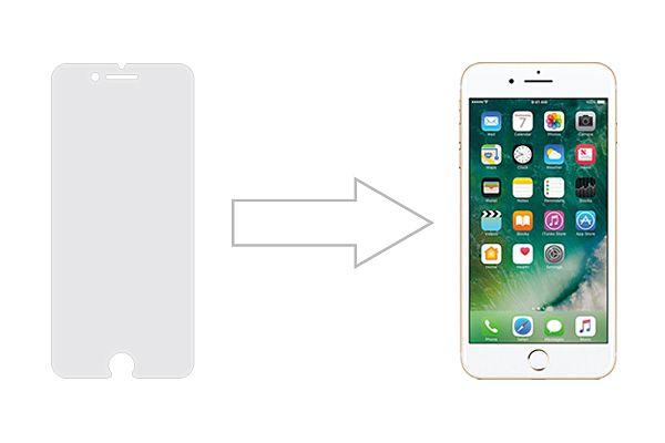 Защитное стекло Ainy GLASS для Apple iPhone 8 0.25mm