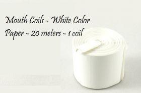 Катушки для рта белые - 20 м (поштучно)