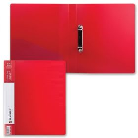 Папка 2 кольца 35мм BRAUBERG Contract красная 221793