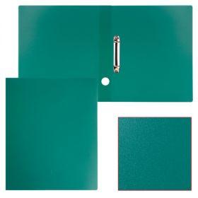 Папка 2 кольца 40мм STAFF эконом зеленая 225723