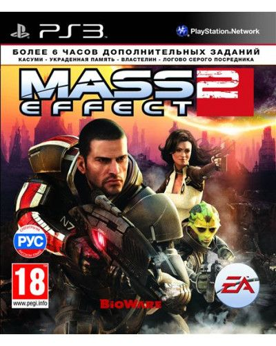 Игра Mass Effect 2 (PS3, русская версия)