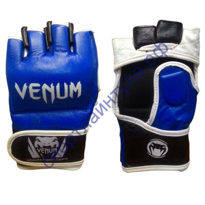 Перчатки MMA Venum V002Син