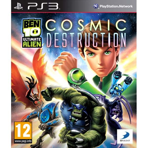 Игра Ben 10 Ultimate Alien Cosmic Destruction (PS3)