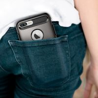 Чехол Spigen Slim Armor для iPhone 8/7 Plus (5.5) темный металлик