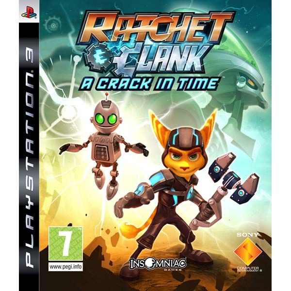 Игра Ratchet & Clank A Crack in Time (PS3)