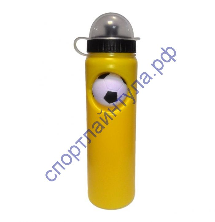 Бутылочка для воды 0,75 л. с мячиком WB001