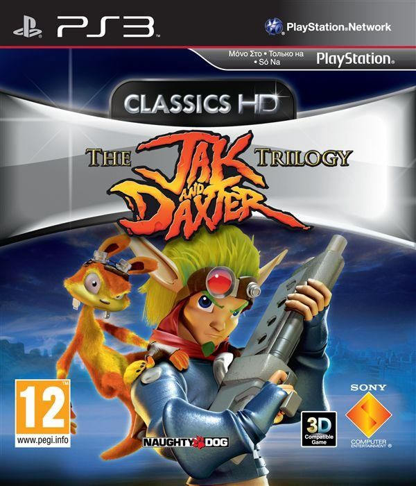 Игра The Jak and Daxter Trilogy (PS3)