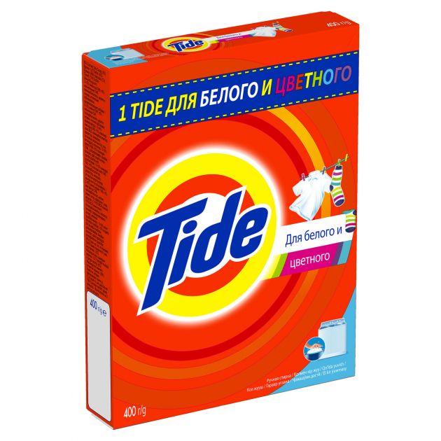 Стиральный порошок Tide ручная стирка Для белого и цветного 400г