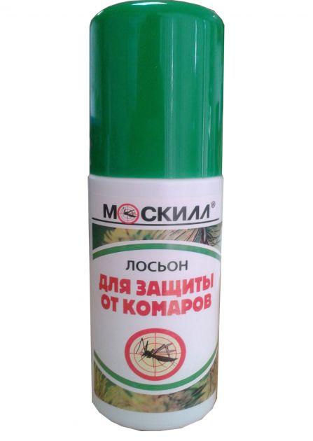 Спрей-лосьон защитный от комаров Москилл 100мл