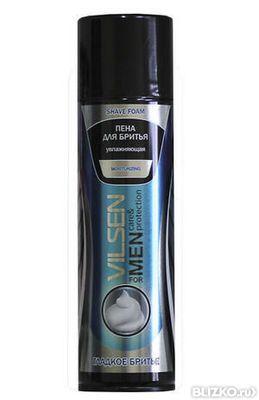 Пена для бритья moisturizing увлажняющая VILSEN for men 200мл