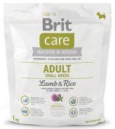 BRIT Care Adult Small Breed Lamb&Rice Для взрослых собак мелких пород с ягненком и рисом (1 кг)