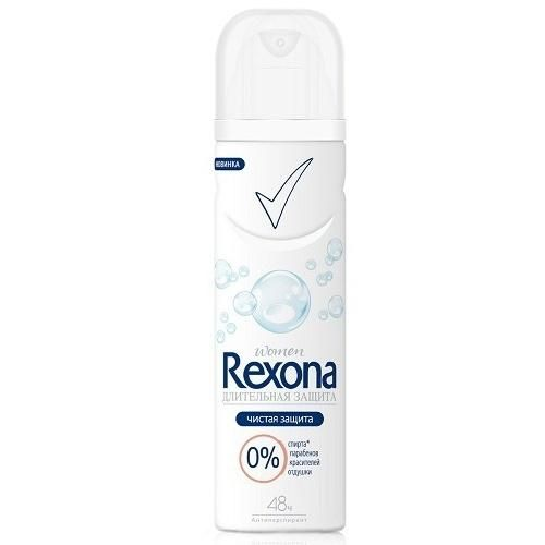 Rexona women Чистая защита без запаха 150мл