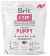 BRIT Care Puppy Salmon&Potato Для щенков и юниоров всех пород с лососем и картофелем (1 кг)