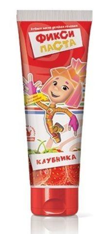 """Зубная паста """"Фиксики"""" детская гелевая 100гр"""