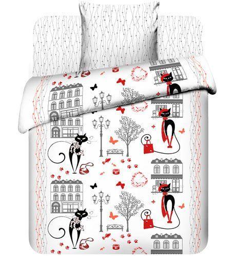 """Подростковое постельное белье """"Гламурная прогулка"""", бязь, рис.5284."""
