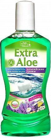 """Ополаскиватель для полости рта """"Extra Aloe"""" 370мл"""