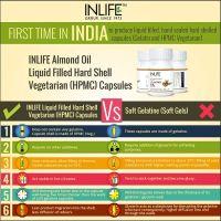 Масло сладкого миндаля (500мг капсула) Инлайф | INLIFE Sweet Almond Oil Capsules 500mg