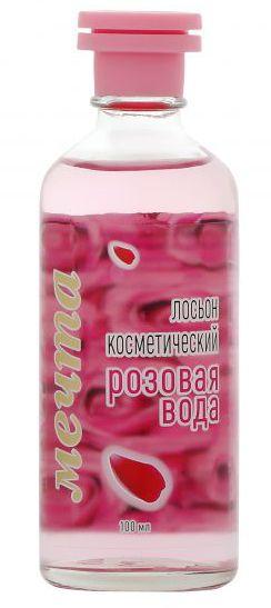 """Лосьон косметический """"Розовая вода"""" 68% об. Мечта 100мл"""