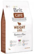 BRIT Care Weight Loss Rabbit&Rice Для собак всех пород с избыточным весом (кролик/рис) (3 кг)