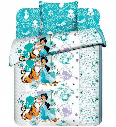 """Детское постельное белье """"Жасмин и Раджа"""" рис.4446."""
