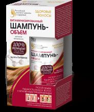 Витаминизированный шампунь-объем для всех типов волос серии Здоровые волосы, 150 мл