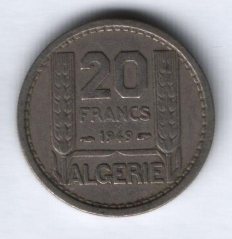20 франков 1949 г. Алжир, VF
