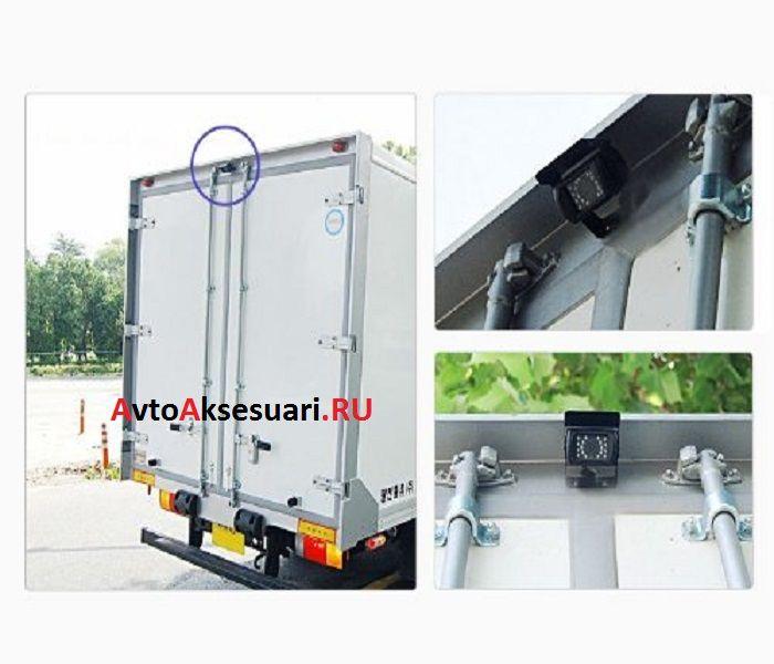 Камеры заднего вида 2 шт с монитором для грузовиков и автобусов PZ470/2