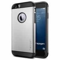 Чехол SGP Spigen Slim Armor для iPhone 6/6S серебристый