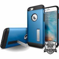 Чехол Spigen Slim Armor для iPhone 6/6S синий