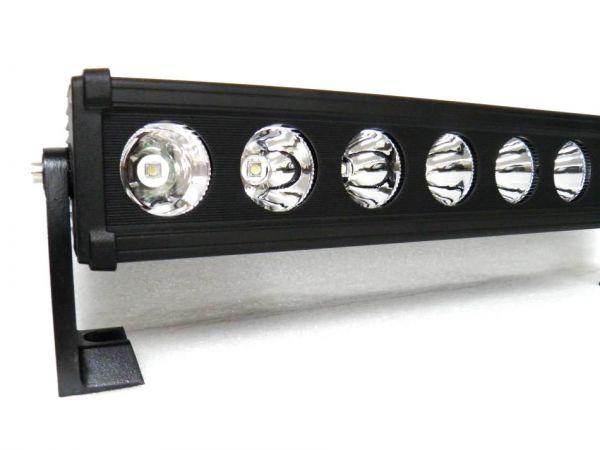 Однорядная светодиодная балка дальнего света X10 160W SPOT CREE