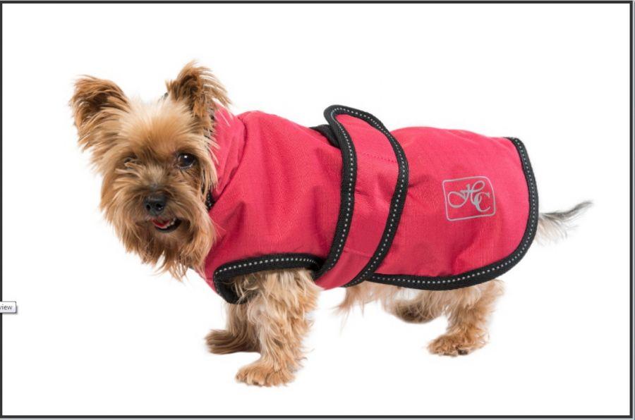 """Попона пальто для собаки """"Horse Comfort"""", 25-45 см. Утеплитель 100 грамм, нейлоновая подкладка 40 см"""