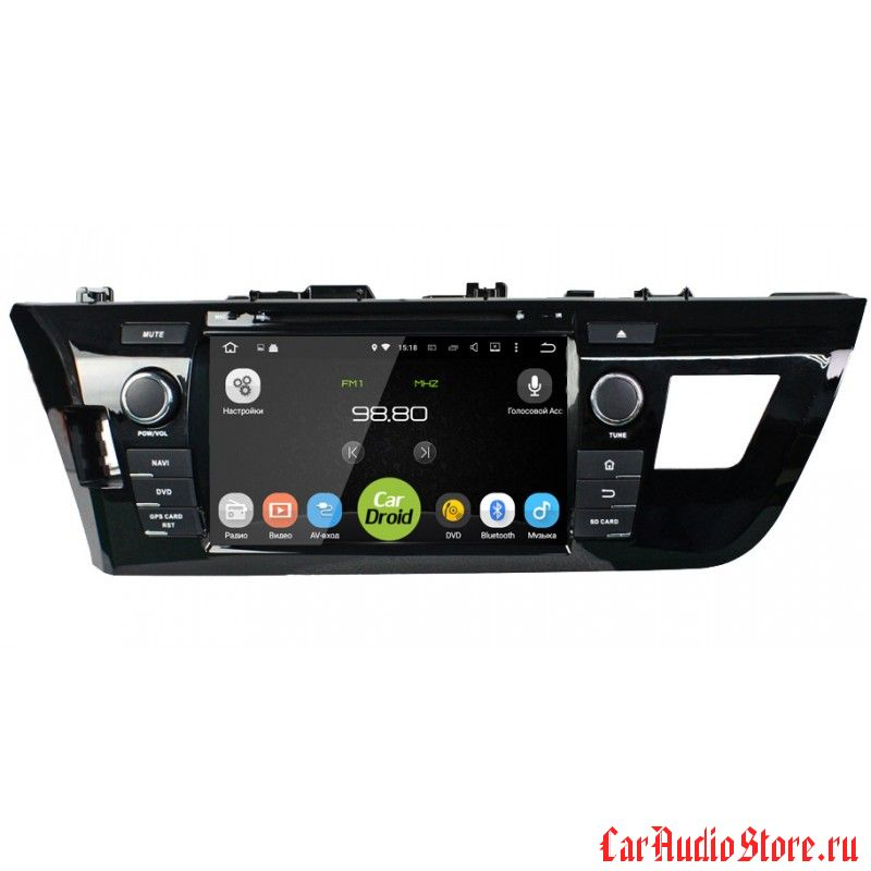 Roximo CarDroid RD-1103 для Toyota Corolla E160 (Android 5.1.1)