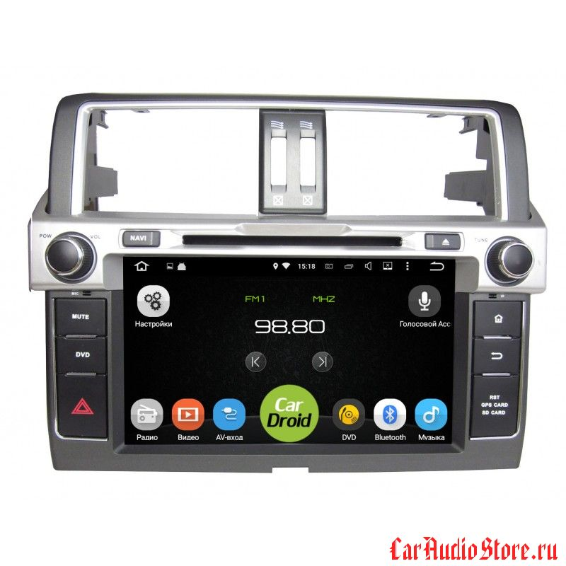 Roximo CarDroid RD-1106 для Toyota Land Cruiser Prado 150, 2013 (Android 8.0)