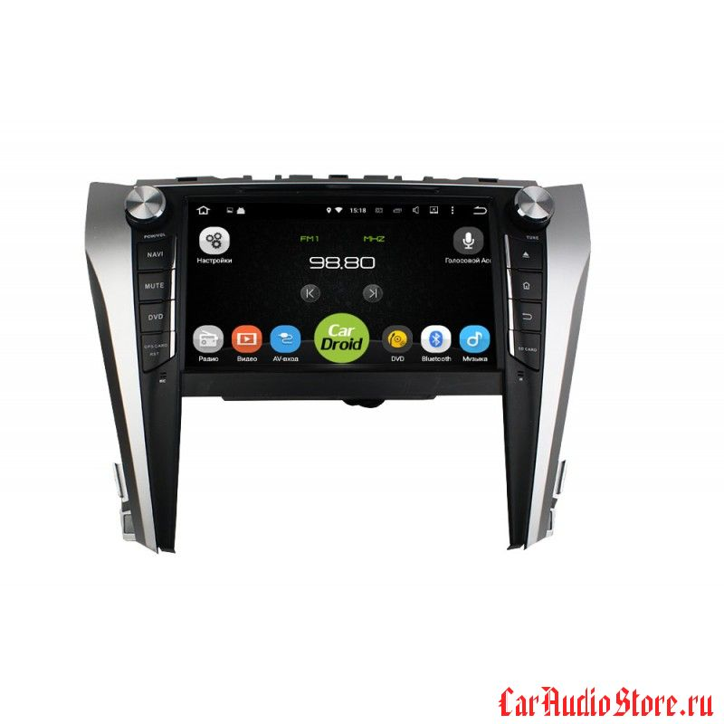 Roximo CarDroid RD-1107 для Toyota Camry 2015 (Android 8.0)