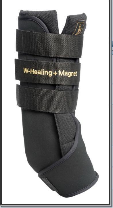 Ногавки-ватники магнитные с керамикой  W-Healing. Пара. 37 X 41 CM