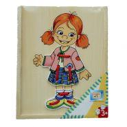 Шнуровка Одень куклу