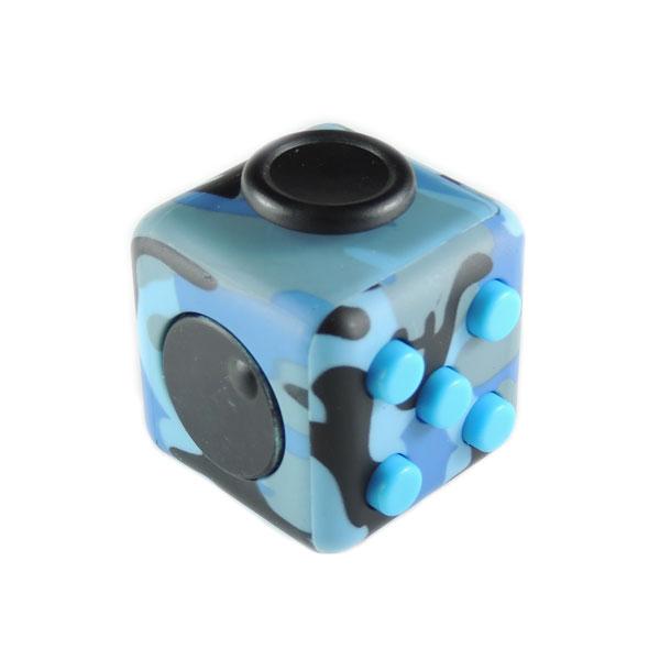 Fidget Cube кубик антистресс (синий камуфляж)