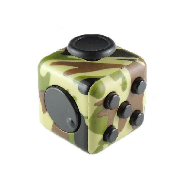 Fidget Cube кубик антистресс (зеленый камуфляж)